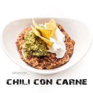 { chili con carne // slowcooker // oppskrift }