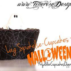 { Reblogging } HalloweenCupcakes m/søte Spøkelser!