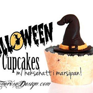 { Reblogging } HalloweenCupacke m/Heksehatt