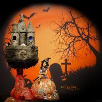 { Halloween - kake // God Morgen Norge // Designkake }