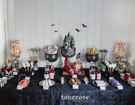 { dessertbord // halloween // GOD MORGEN NORGE // BILDEDRYSS }