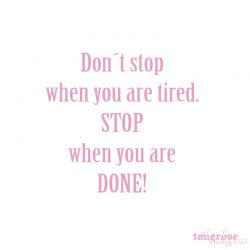 { don´t stop }