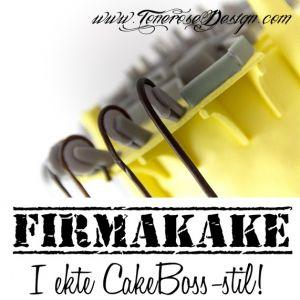 Firmakake i ekte CakeBoss–stil!