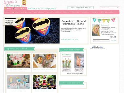 { featured on Karas Party Ideas // Superhero Party }