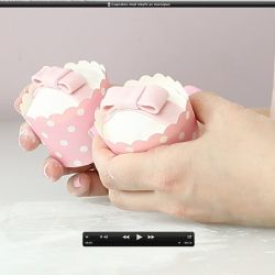 { Ny gratis videosnutt // Cupcakes med sløyfe }