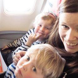{ Flyreise med små barn // Reisebrev fra Spaniatur  }