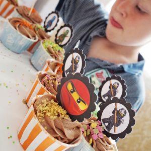 { CupcakeSkilt til barnehagen - kjempepopulært! Gratis nedlasting }