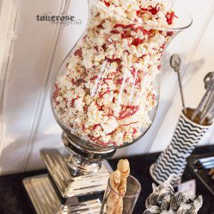 """{ """"Blodig"""" popcorn til Halloween }"""