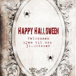 { HalloweenParty // Invitasjon // Gratis Nedlasting }
