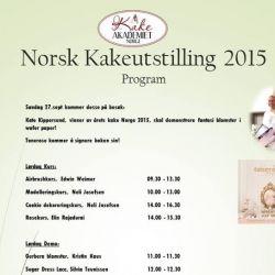 { Norsk Kakeutstilling // sees vi? }