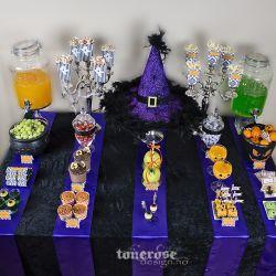 { Enkelt & stilig dessertbord til Halloween // God morgen Norge // Bildedryss }