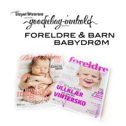 { Goodiebag & Ballongslipp: FORELDRE & BARN / BABYDRØM }