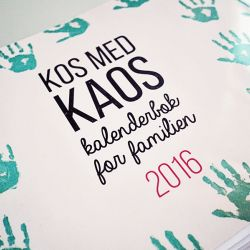 { GiveAway // Kalenderbok: Kos med Kaos // Idebank for småbarnsforeldre }