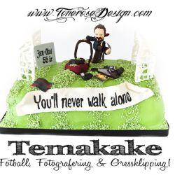 Temakake - Fotball, Gressklipping og Fotografering {Bildedryss}
