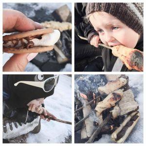 { Påskekos med barna // Oppskrift pinnebrød }