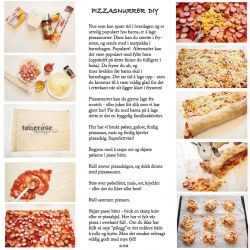 { JukseSuperMamma-tips: Pizzasnurrer DIY // Oppskrift }