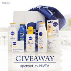 { Påfyll med solkrem? // Giveaway NIVEA }