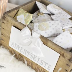 { Årets julekalender // Adventskiste }