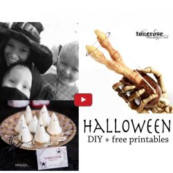 { Ny VIDEO - Halloween Inspirasjon }