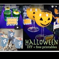 { Stilig og enkel Halloween - ny video med masse inspirasjon }