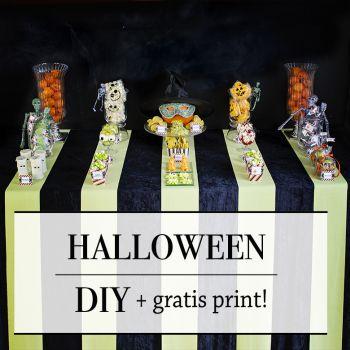 { Fra God morgen Norge; Halloween dessertbord i ekte JukseSuperMamma-stil! }