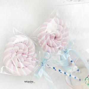 { Digre kjærligheter av marshmallows - lollipop DIY }