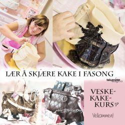 { Straks VeskeKakeKurs - lær å skjære kake i fasong! }