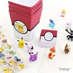 { Forberedelser til Pokemon-PARTY }