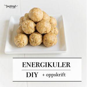 { Energikuler // Oppskrift }