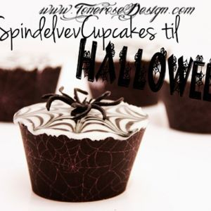 SpindelvevCupcakes på 1-2-3! {Halloween}