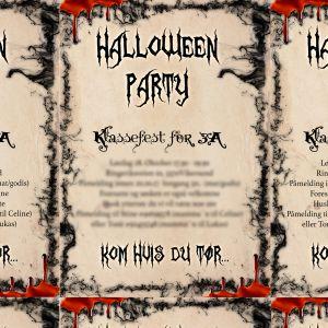 { Gratis // Skumle invitasjoner til HalloweenParty }
