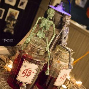 { Gratis skilt til drikkedispenser // Halloween }