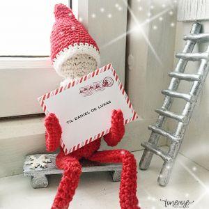 { Gratis print; brev fra julenissen - rampenissens ankomst! }