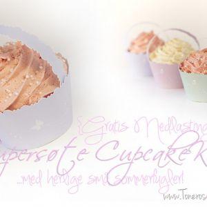 Supersøte Cupcake-Kurver {Gratis Nedlasting}