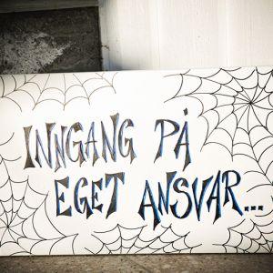 { Straks oktober - tid for halloweeninspirasjon }