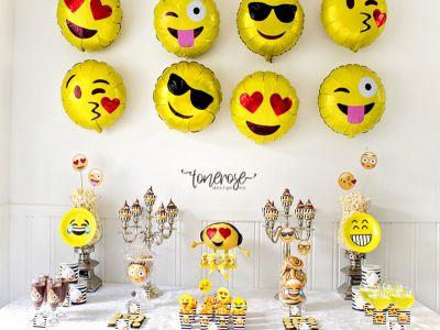 { Emoji-party // Dessertbord // Barnebursdag }