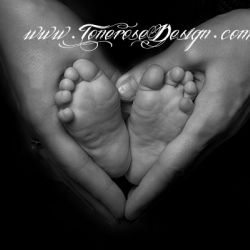 Idè til nyfødtfoto? Herlig personlig kunst!