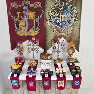 { Harry Potter bursdag dessertbord // Bildedryss }