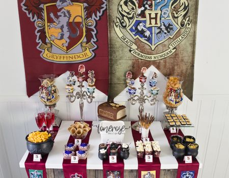 { Harry Potter bursdag dessertbord // Bildedryss }