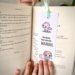 { Morsdag // Gratis print // La barna fargelegge bokmerke til mamma! }
