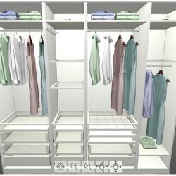 { Walk-in-closet in the making }