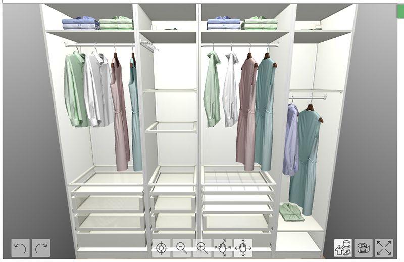 { Walk-in-closet in the making }