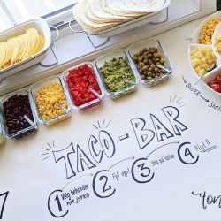 { Taco bar // Buffet }