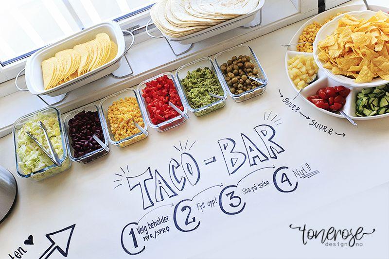 { Taco bar // Buffet }