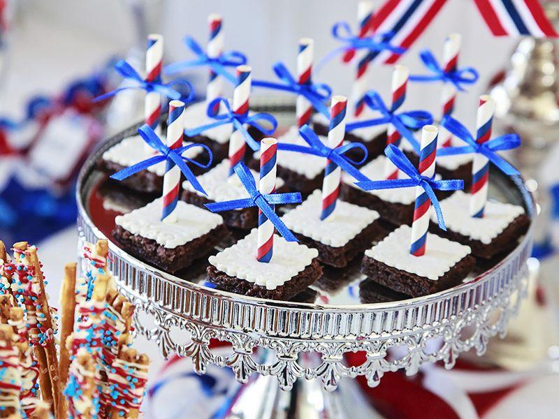 Brownies til 17. Mai // Raskt, enkelt - og deilig!