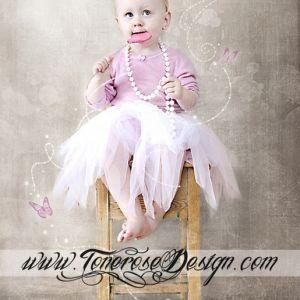 Barnefotografering – Nydelig litta prinsesse! {Maleri i Photoshop}