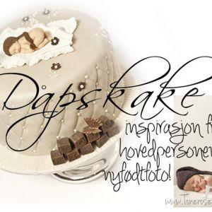 Dåpskake inspirert av prinsens nyfødtfoto