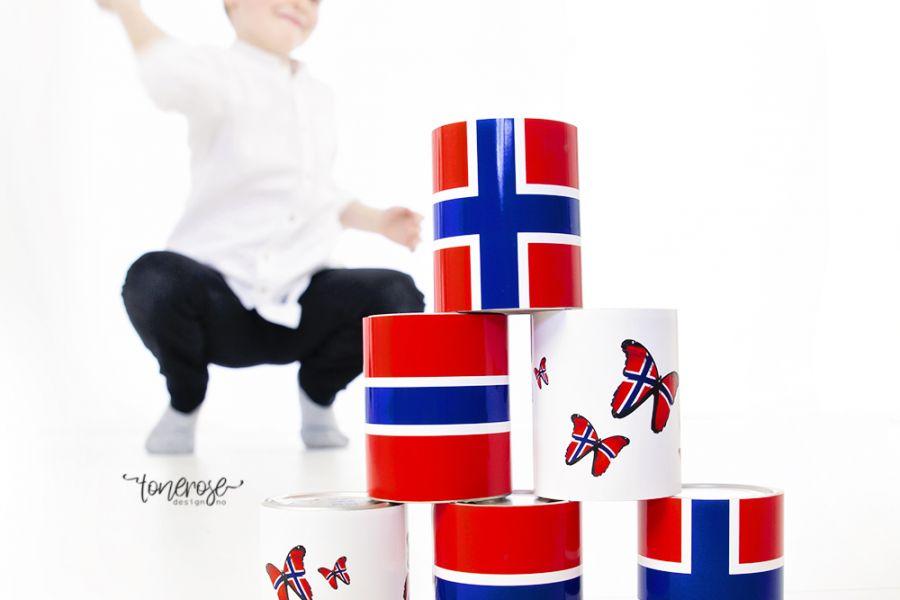 17.Mai-leker // Kaste-på-boks // Gratis print