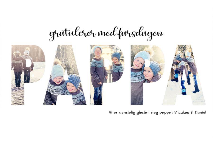 Gavetips til pappa // DIY // Farsdag
