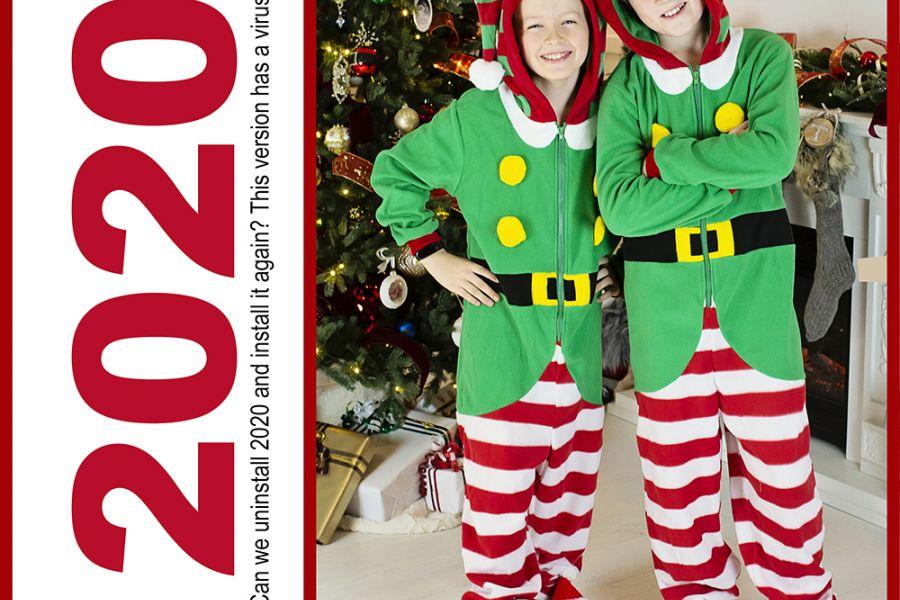 Årets julekort // 2020